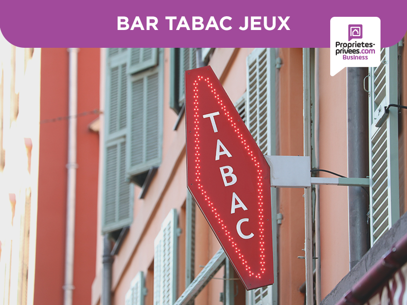 13006 - Bar Tabac Brasserie - Terrasse 50 couverts