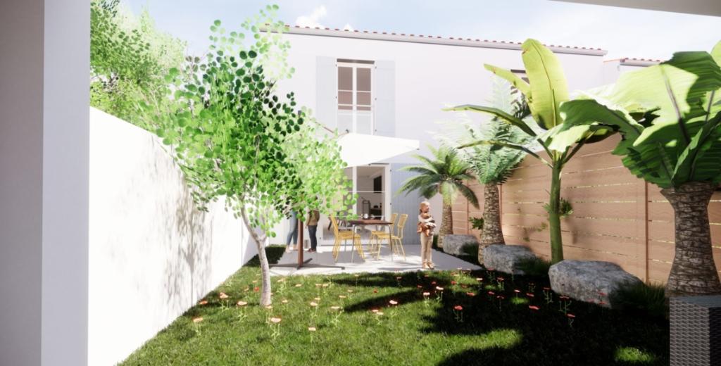Dept 17 - Île d'Oléron - Saint Pierre Pierre d'Oléron - Maison Neuve en lotissement, T4 duplex, 3ch, jardin de 91m2