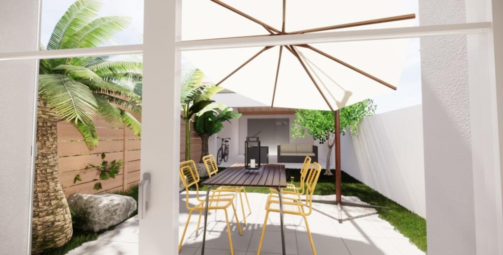Dept 17 - Île d'Oléron - Saint Pierre Pierre d'Oléron - Maison Neuve en lotissement, T4 duplex, 3ch, jardin de 87m2