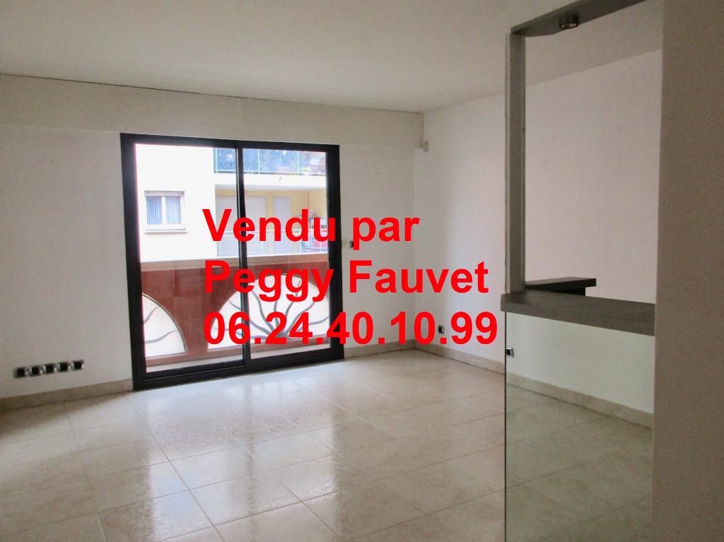 appartement 42,86m² 1 chambre balcon, terrasse et garage