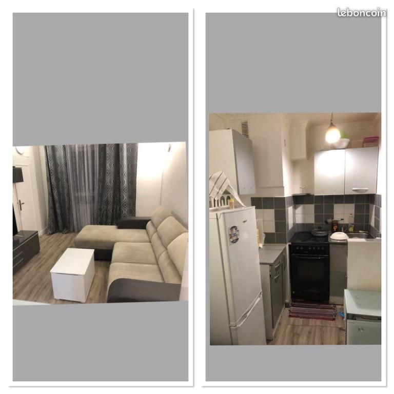Appartement Aubervilliers 2 pièce(s) 32 m2