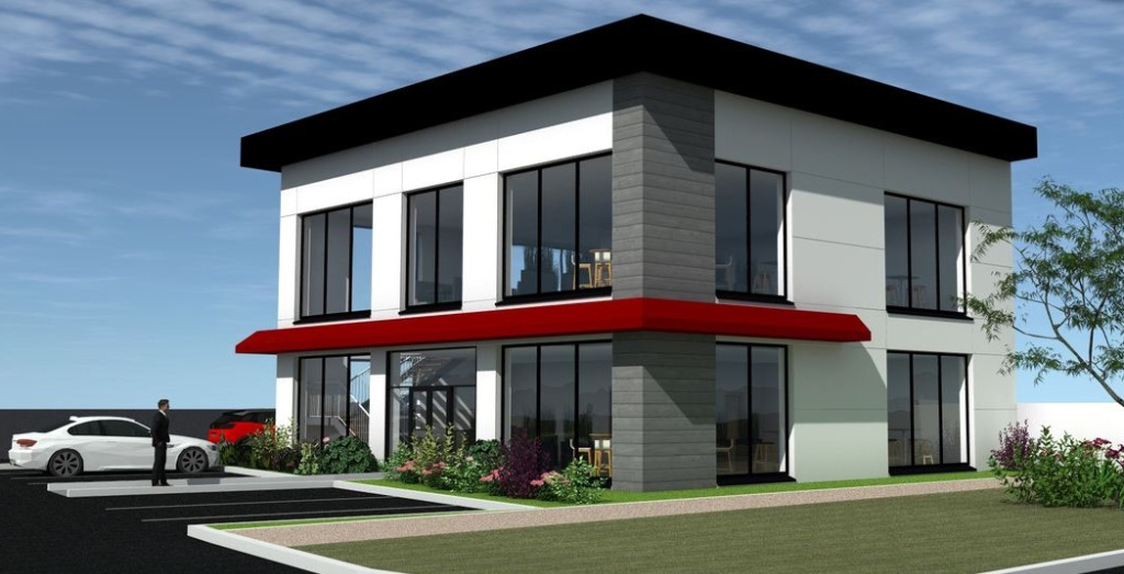 DREUX - Local commercial  77 m² emplacement N°1