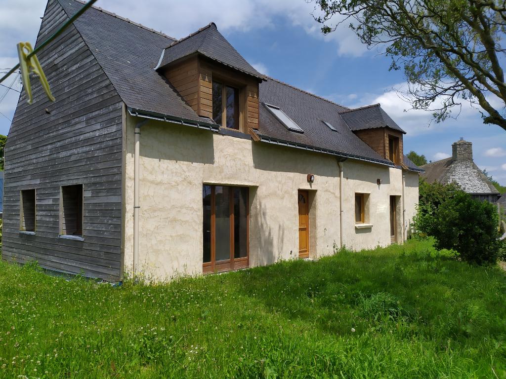 Maison passive à ossature bois, chanvre et chaux plus seconde maison