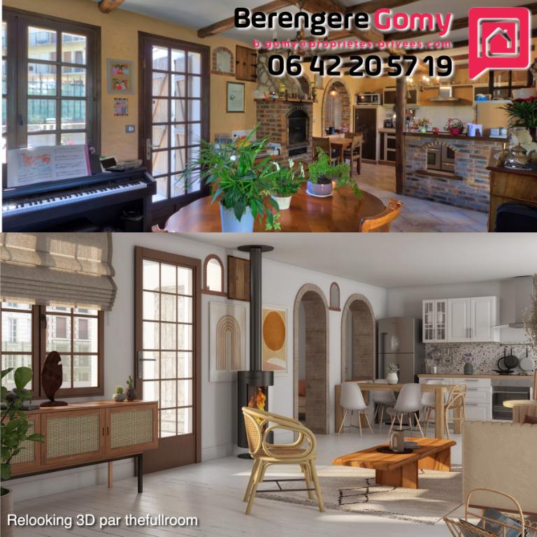 Maison Le Plessis Bouchard 6 pièce(s) 120 m2