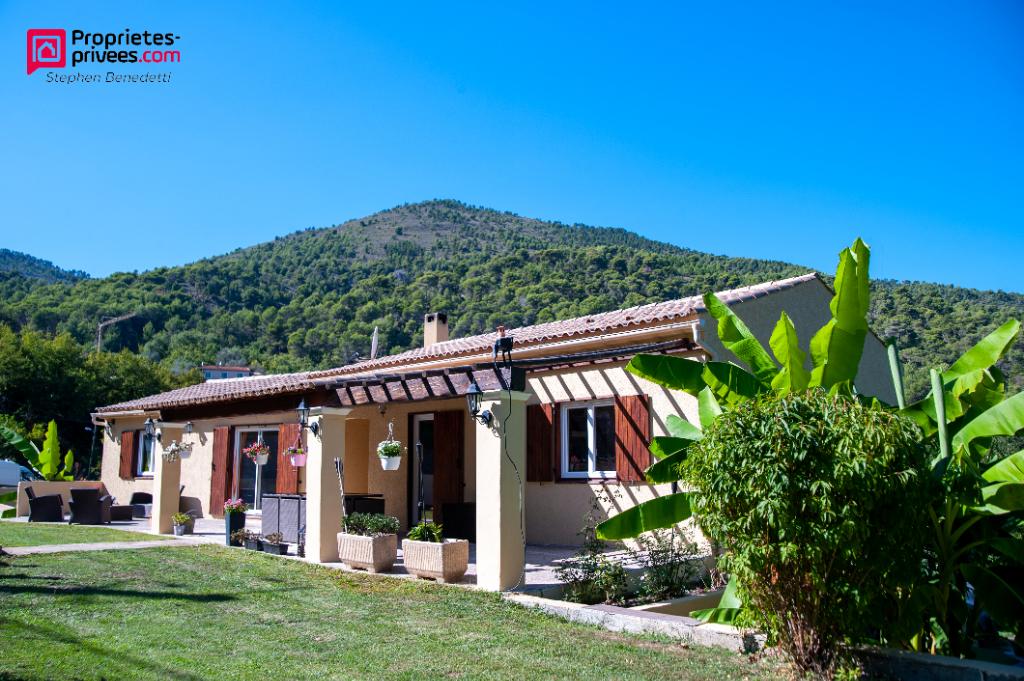 Maison Tourrette Levens 5 pièces 140 m2 Terrain 1500m2 Piscine