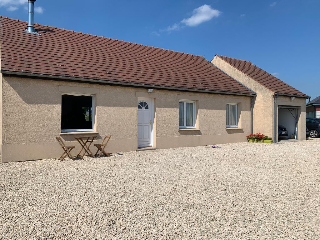 Axe RD 14  à 30 mn de Cergy Maison de 92 m² 3 Chambres sur 1000 m² de terrain