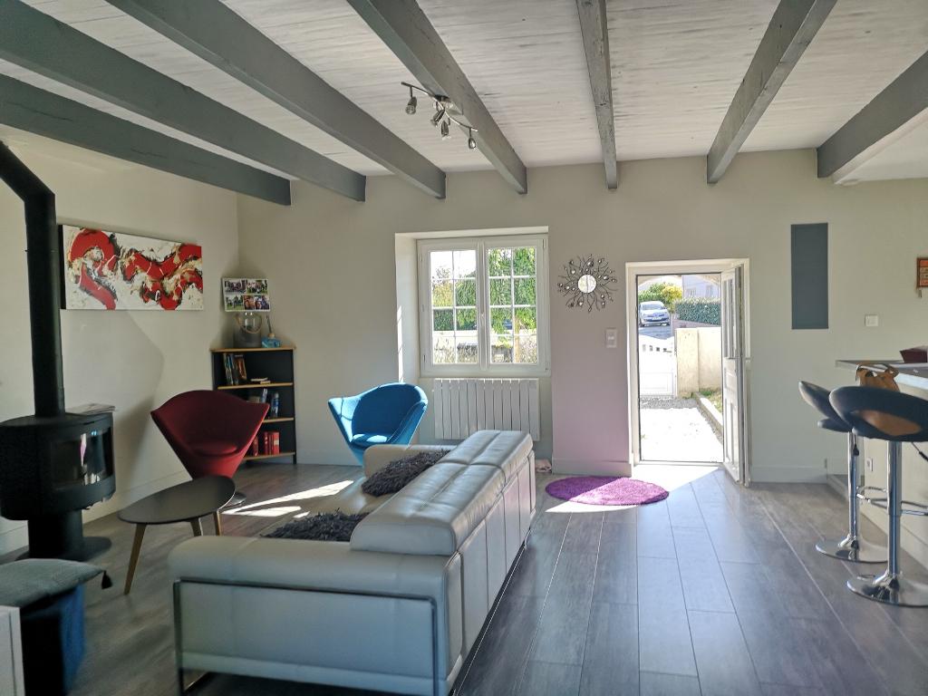 Maison de plain-pied  Pornic  proche Mer 3 pièce(s) 94 m2 + garage + combles