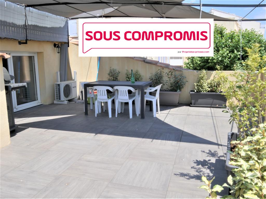 EXCLUSIVITÉ Maison de Village La Londe  T4/T5 133 m2+40m² toit terrasse