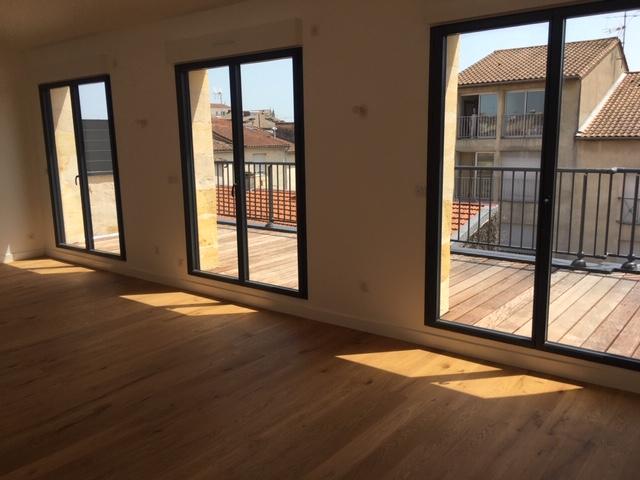 Appartement T3 (Bordeaux 33000) 78 m2  avec terrasse