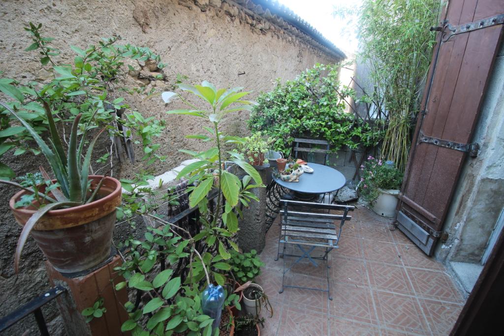 Maison de village 91m² - Terrasse- 34370 Maraussan- 95 000 euros