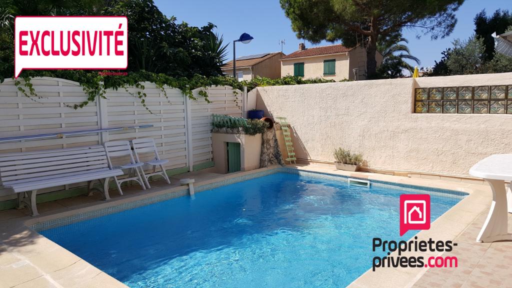 Hyères maison mitoyenne 4 pièces - 3 chambres - piscine