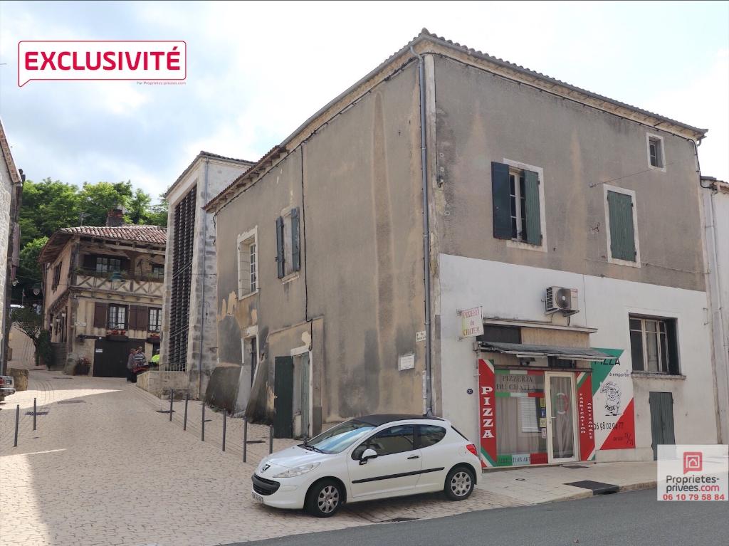 Maison de village 6 chambres à rénover 170m2 (47440) Cancon