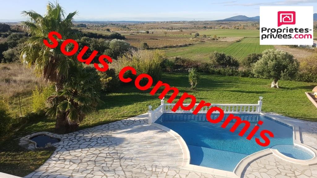 Villa type 6 145m² avec vue panoramique sur 1850m² de terrain