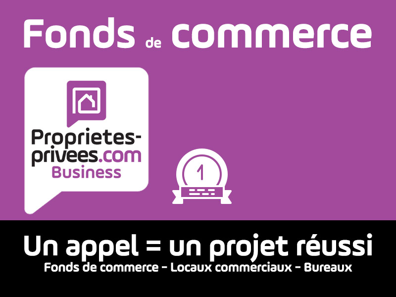 DINAN - FONDS DE COMMERCE  RETOUCHERIE COUTURE