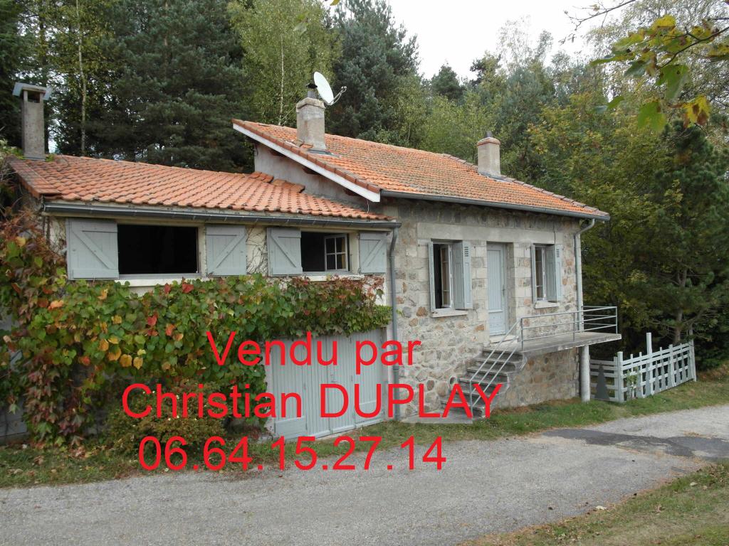 Maison Saint Genest Malifaux 4 pièces 70 m² sur 4359m² de terrain