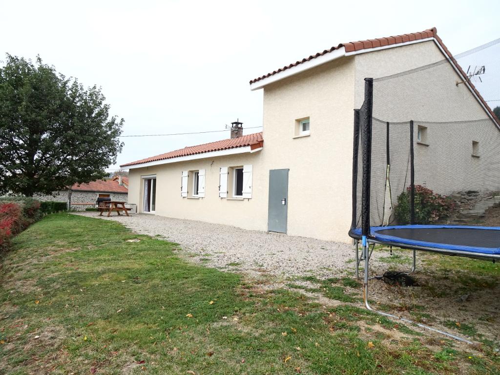 Beauzac maison de plain-pied 90 m² 3 chambres sur 1300 m² terrain