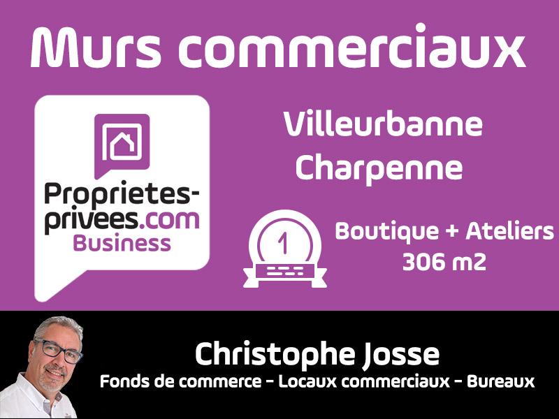 Villeurbanne - MURS COMMERCIAUX LOUES 306 m²