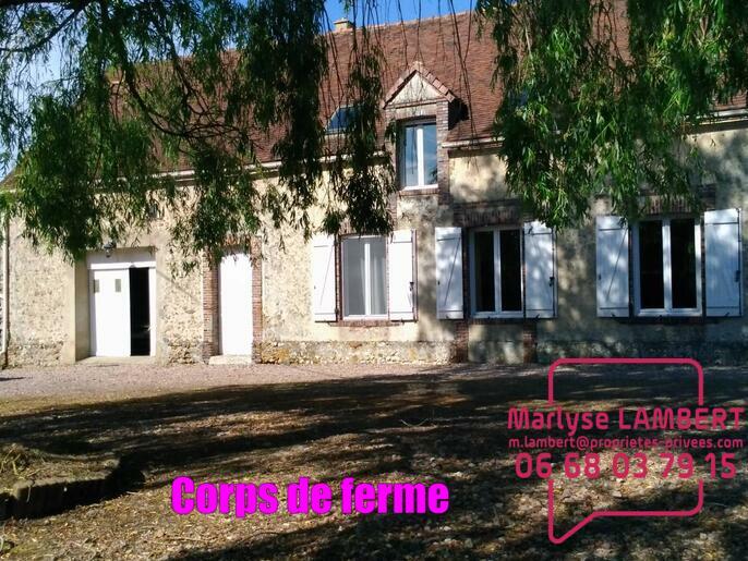 Maison La Ferte Vidame 6 pièce(s) 160 m2