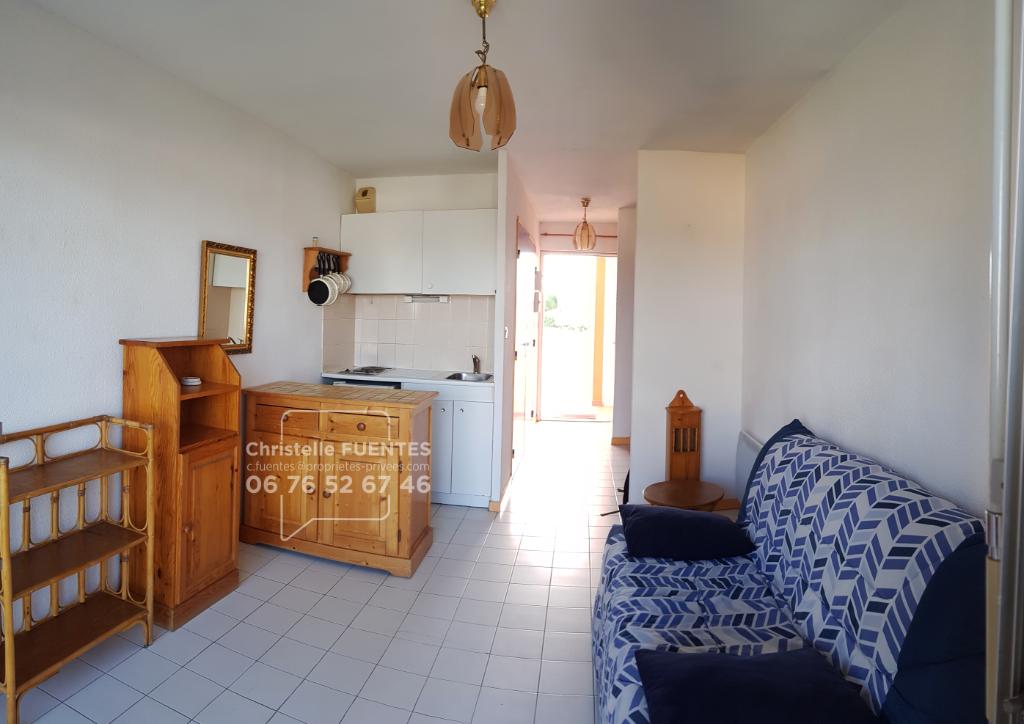 HERAULT - Balaruc -les-bains (34540) - Studio 24m2 en résidence fermée - IDEAL INVESTISSEUR