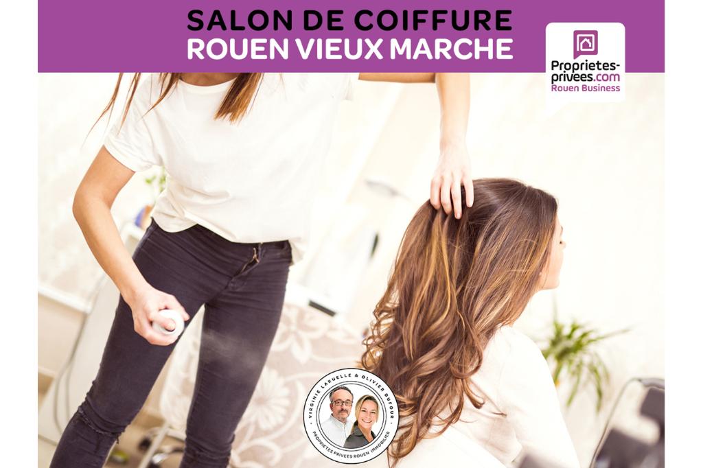 ROUEN VIEUX MARCHE - SALON DE COIFFURE MIXTE