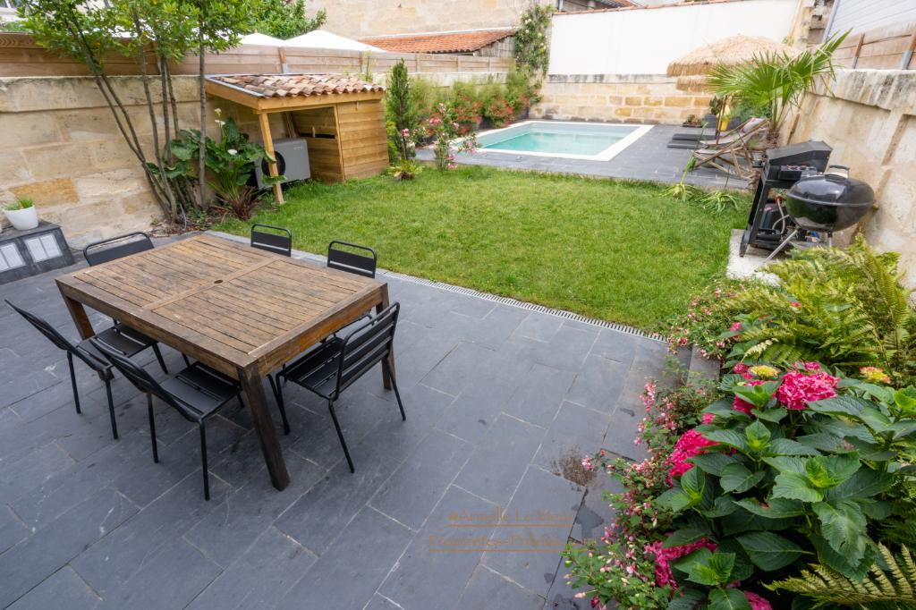 Bordeaux - 33000- Maison  4/5 chambres bureau garage et piscine