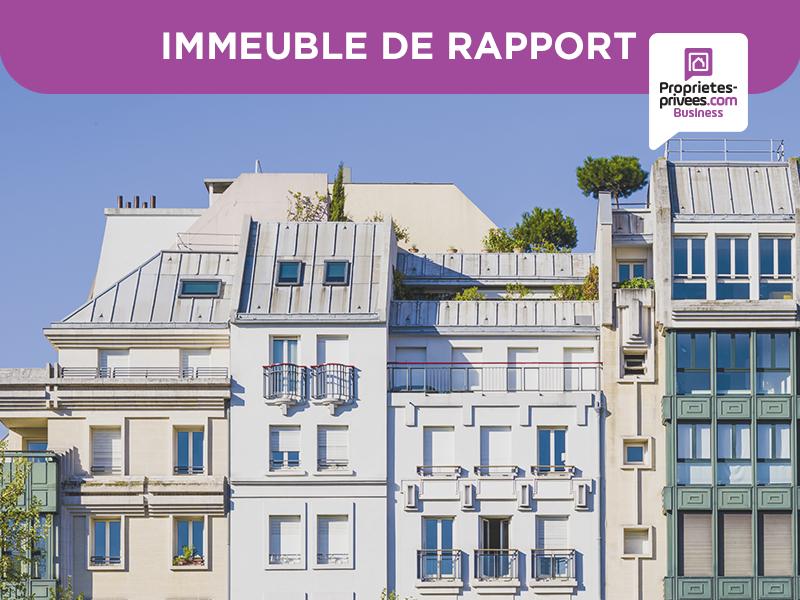 CHERBOURG -  3 IMMEUBLES DE RAPPORT 1000 m² - 2 019 000 euros -