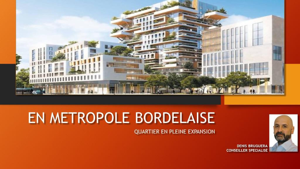 A VENDRE Appartement T1 - Bordeaux (33000)