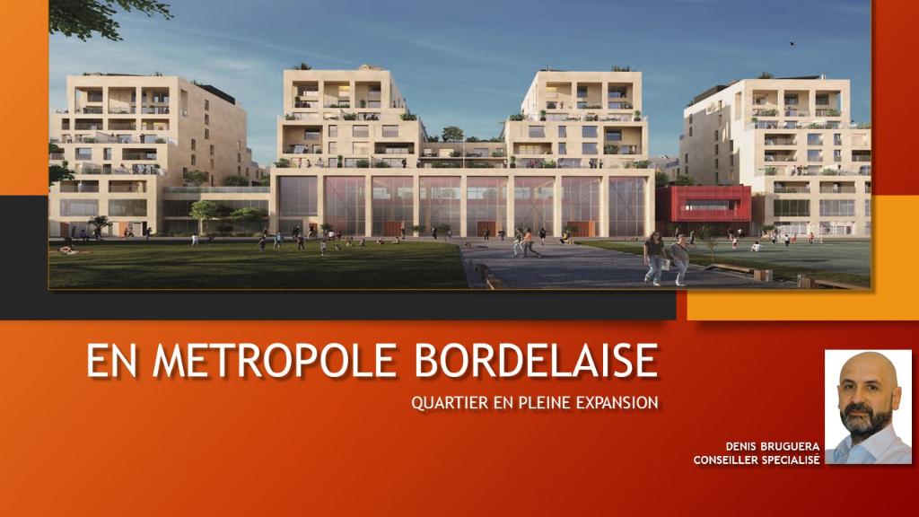 A VENDRE Appartement T4 - Bordeaux (33000)