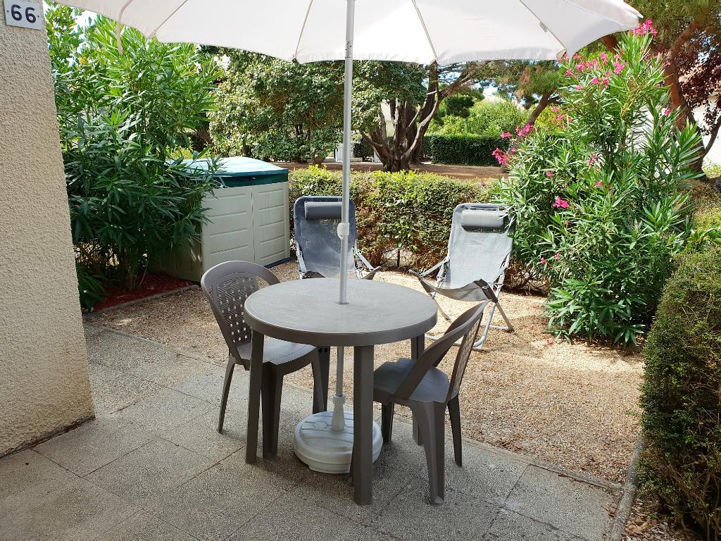 Appartement RDC  2 pièce(s) 26 m² - 17550Dolus - Île d' Oléron -