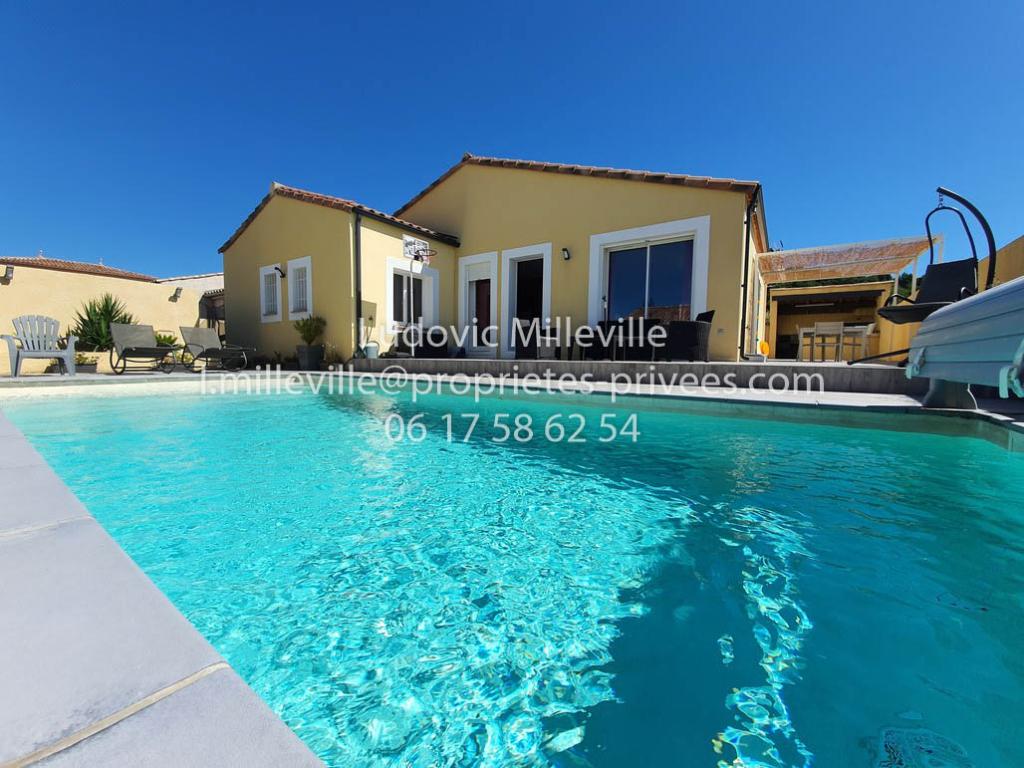 Belle Villa de plein pied 116m² avec piscine