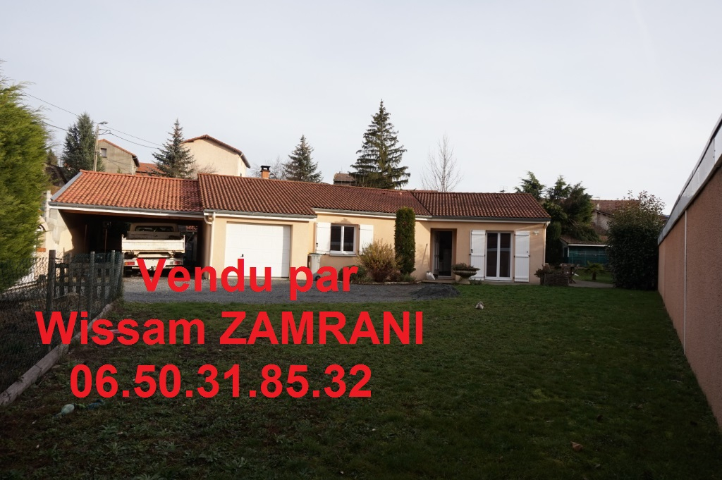 Maison La Ricamarie 5 pièces 97 m² sur 777m² de terrain