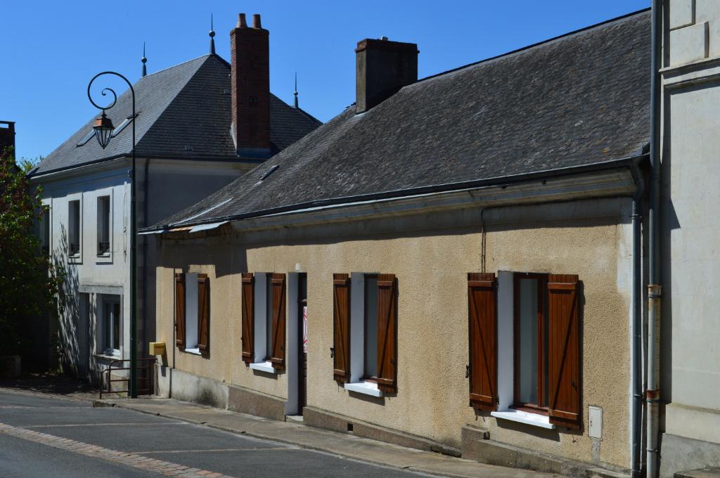Maison  de village - 116 m²  - 3 chambres (Rdc) - 5 pièces - terrain 547 m²