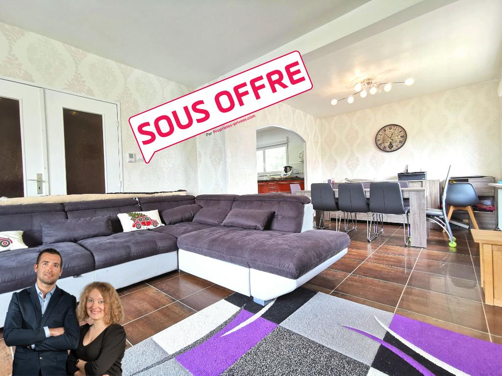 Maison de plain-pied - 4 pièces - 90 m2 + sous-sol total