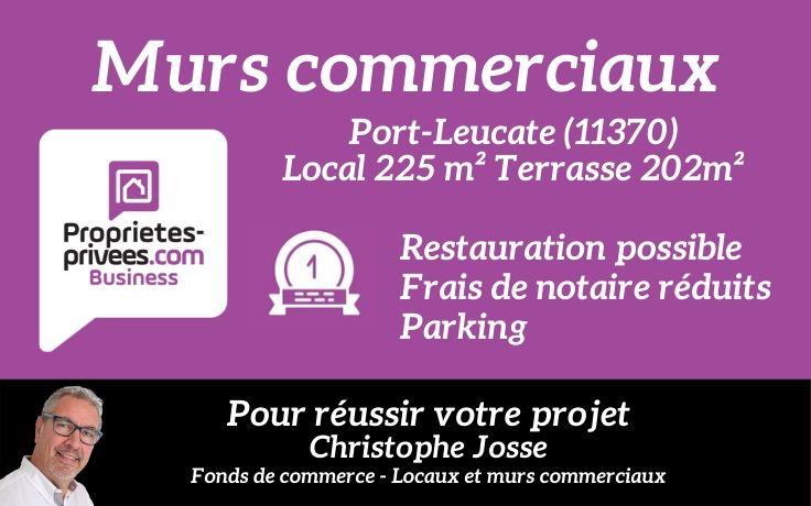 11370 Port Leucate Murs commerciaux  225m2