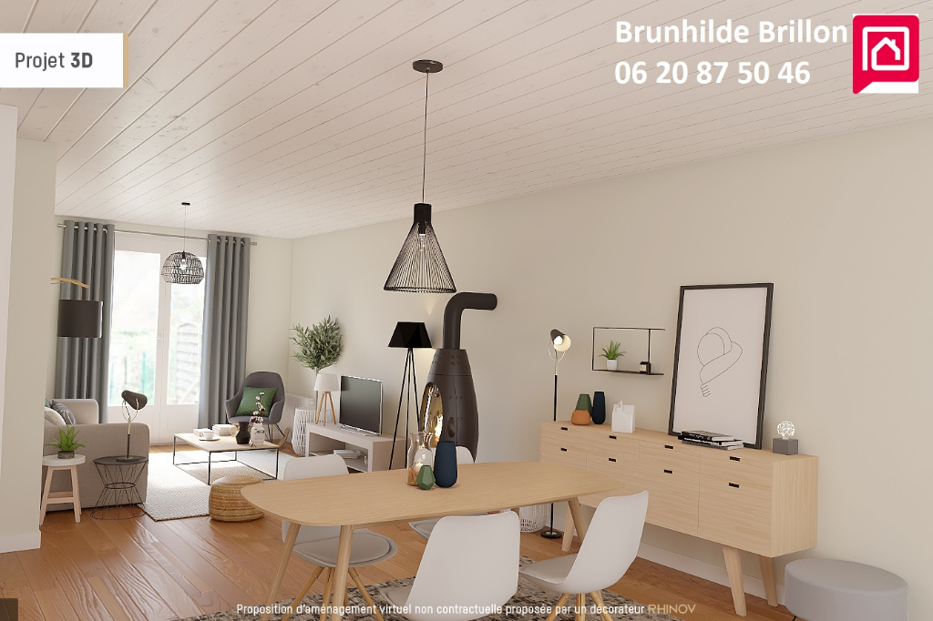 Généreux semi-plain pied 160M² utiles sur sous sous sol complet , 4 à 5 chambres