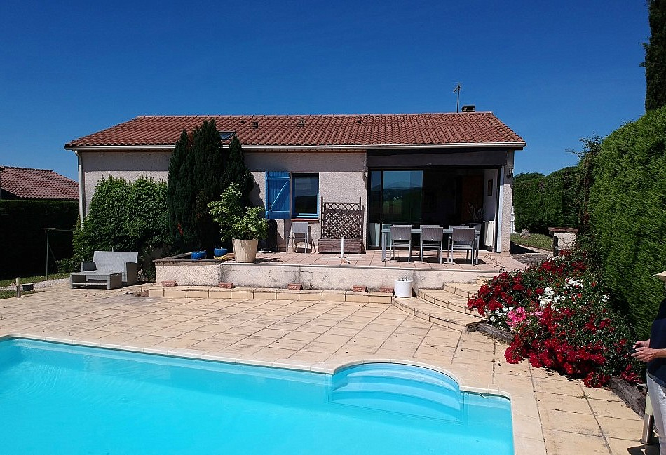 Maison avec piscine à 10 minutes de Cahors