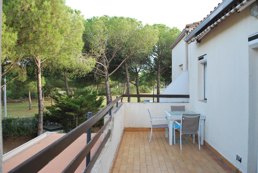 Appartement Le Cap D Agde 4 pièce(s)  grande terrasse parking