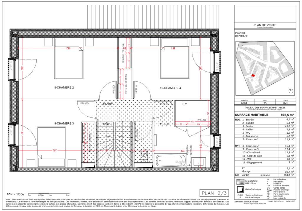 Maisons 5 pièces - 106m2 - COUPVRAY (77700)