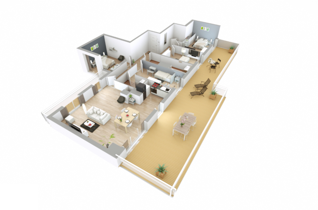 Appartement T5 - 106m2 - CHAMBOURCY (78240)