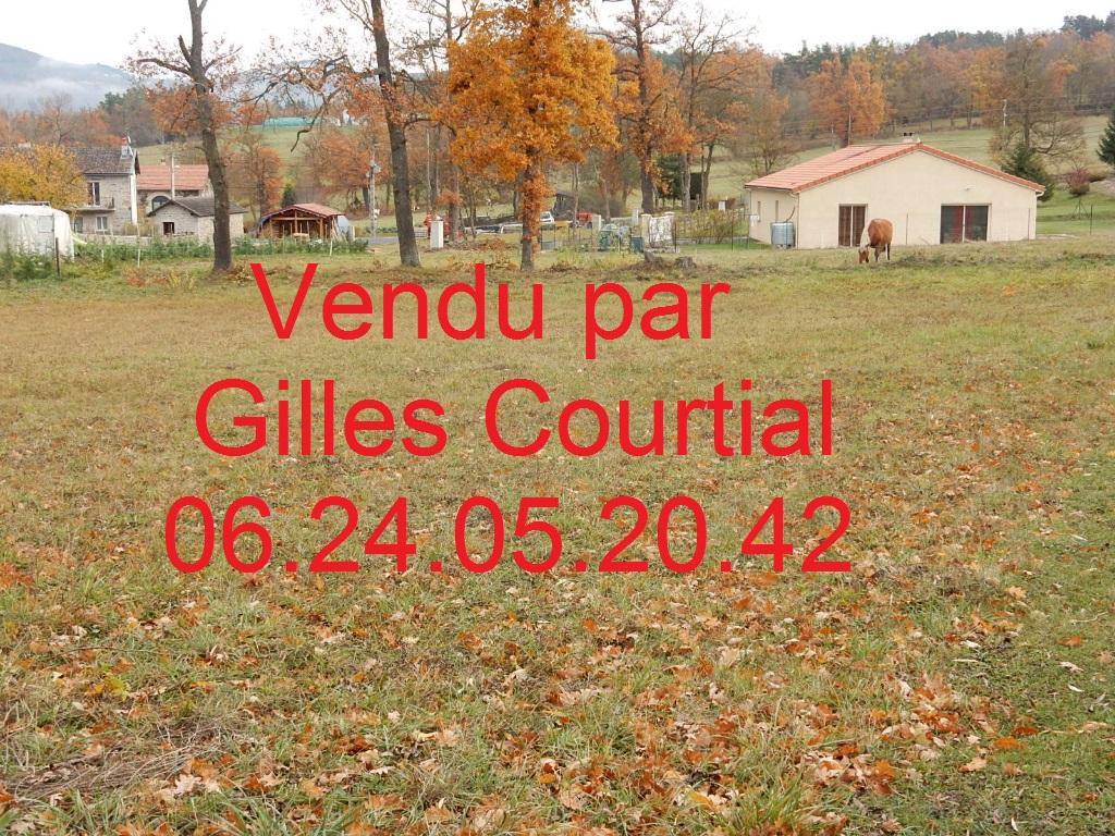Saint-Etienne-Lardeyrol 43260 terrain à bâtir 1601 m²