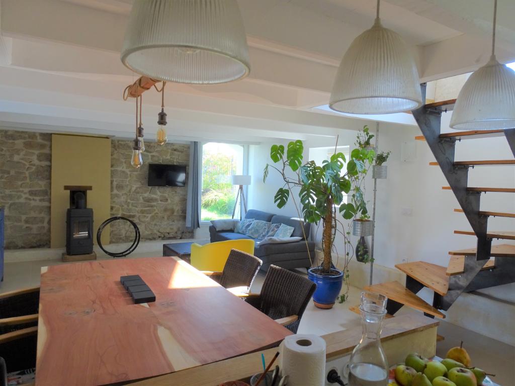 PLOUHINEC - 56580 - Maison de 140 M² sur 478 m²  de terrain- RARE SUR CE SECTEUR