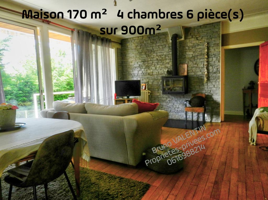 Maison 170 m²  4 chambres 6 pièce(s) Cantal