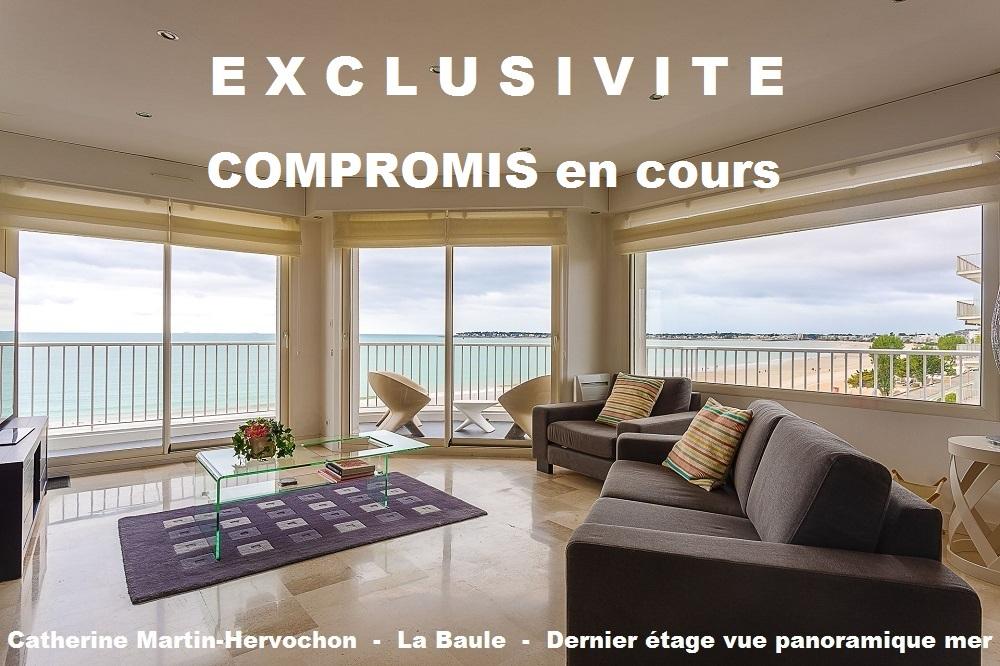 Dernier étage - Vue panoramique mer - 4 chambres