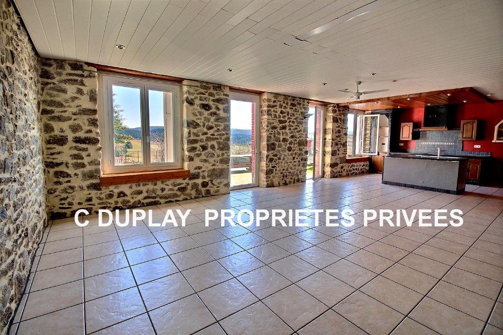 Maison Jonzieux 8 pièces 180 m²  4 chambres 457m² de terrain
