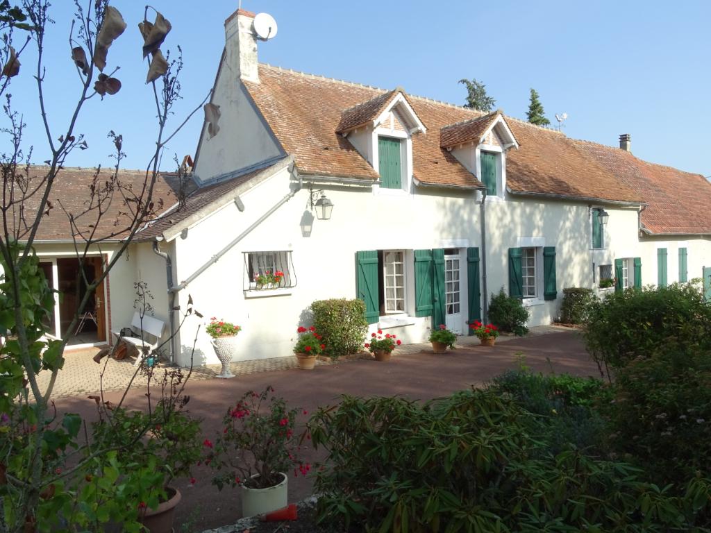 Fermette Beaulieu Sur Loire, 8 pièces 180 m2