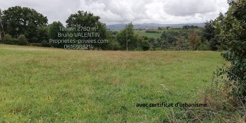Terrain à bâtir avec CU à Agnac 2790 m2