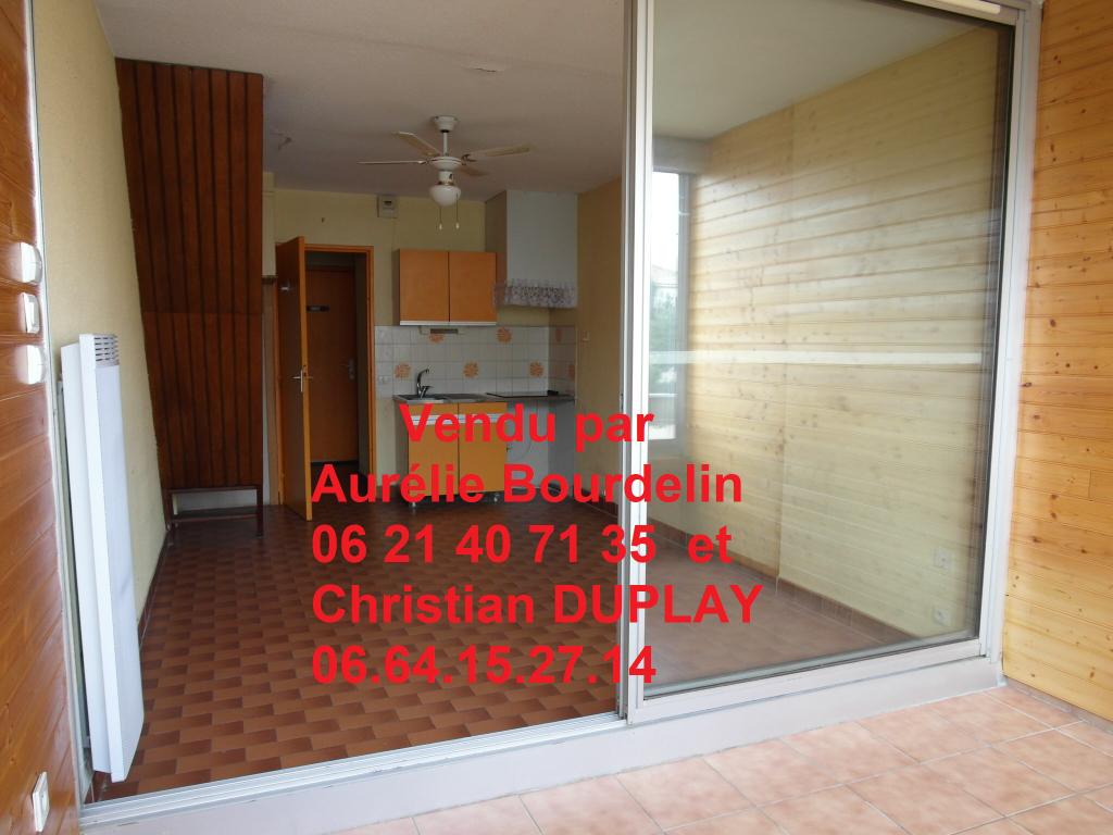 DUPLEX Le Grau Du Roi Les Floralies1 - 2 pièces 36,46m² + loggia, terrasse, place de parking au troisième et dernier niveau
