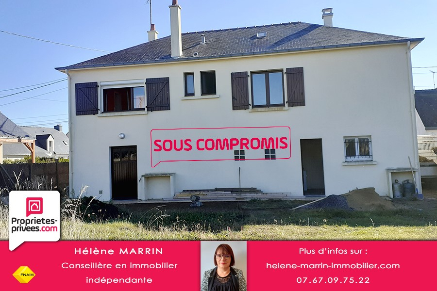 Maison La Turballe 5 pièces de 75 m² env. rénovée et garage atelier de 60 m²