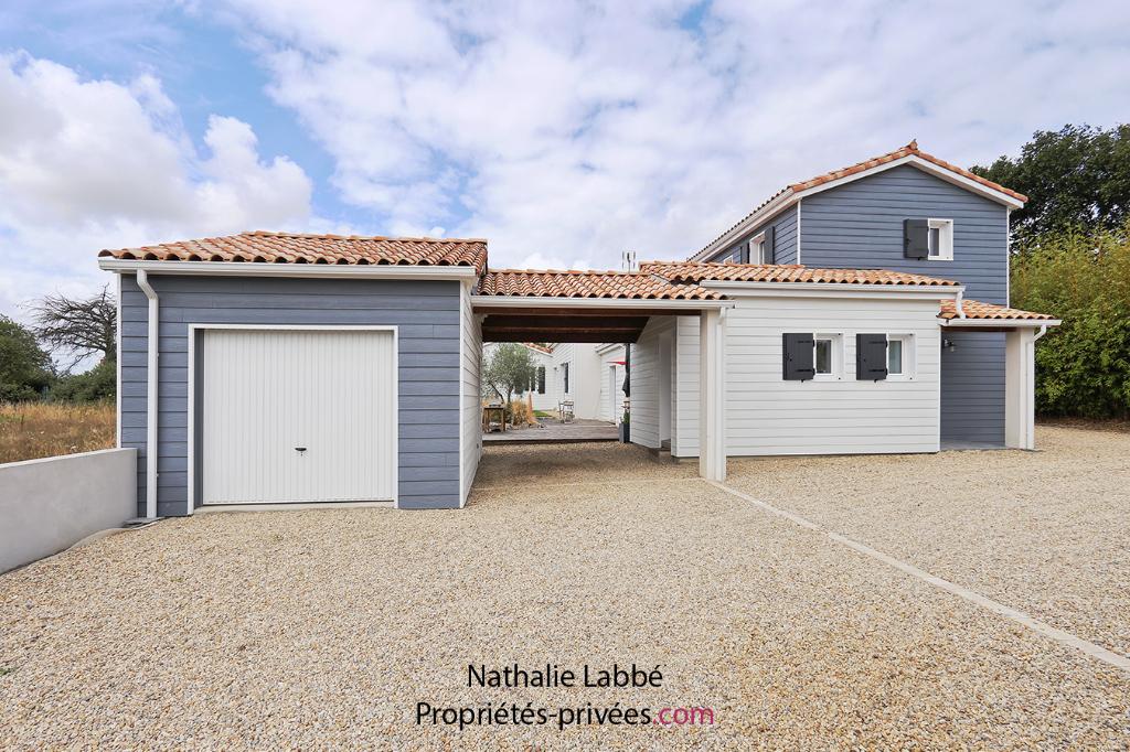 Maison Pornic 7 pièce(s) 200 m2 hab - 5 chambres- 2 Garages - 2 Preaux