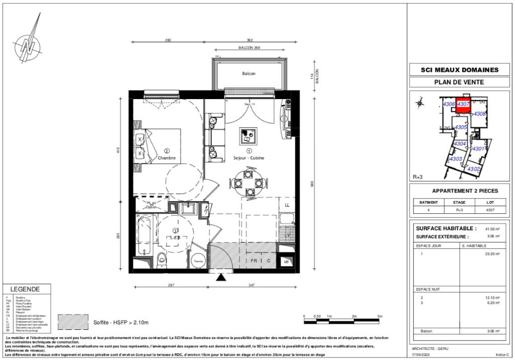 Appartement T2 - 41m2 - MEAUX (77100)